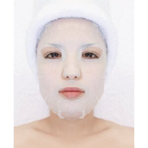 Plant & Vegetable Collagen Mask - Jasmine Wet Collagen Mask Pack of 20 - Each Pre-Moistened 100% Natural and Paraben Free Mask is Single Use (MS2801 X 20)