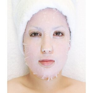 Plant & Vegetable Collagen Mask - Enzyme Whitening Collagen Mask Pack of 20 - Each Pre-Moistened 100% Natural and Paraben Free Mask is Single Use (MS2803 X 20)