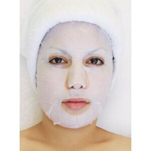Fruit Collagen Mask - Rosemary Deep Cleaning Mask Pack of 20 - Each Pre-Moistened 100% Natural and Paraben Free Mask is Single Use (MF50014 X 20)