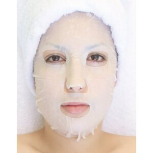 Specialty Mask - Caviar Collagen Mask - Cll Regeneration Pack of 20 - Each Pre-Moistened 100% Natural and Paraben Free Mask is Single Use (MX31100 X 20)