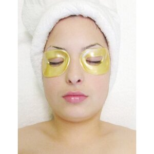 24K Gold Eyeshade Collagen Mask Pack of 40 Pair - Each Pair is Single Use (MX9002 X 8)