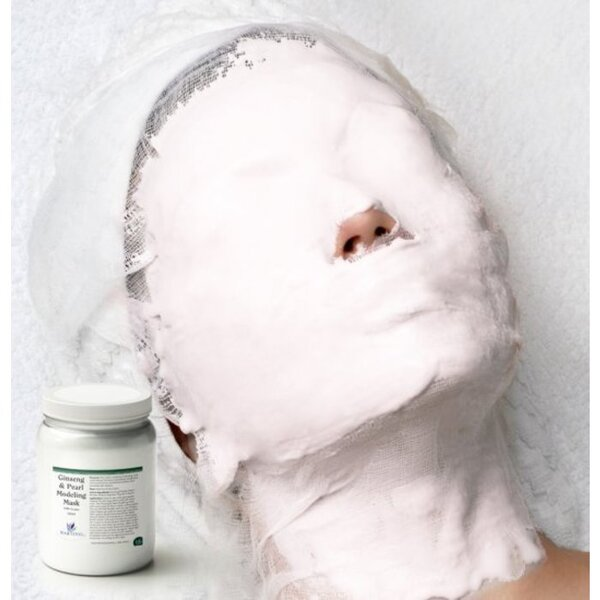 Ginseng and Pearl Soft Modeling Mask 2.64 Lbs. (1.2 Kilograms - 24 X Single Use 50 Gram Bags) (31000S X 24)