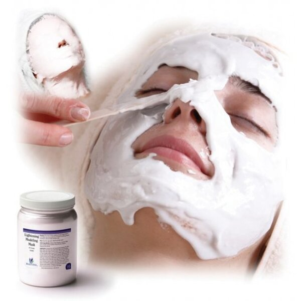 Lightening Modeling Mask 4.4 Lbs. (2 Kilograms - 4 X 500 Gram Containers) Bulk Pack (31040M X 4)