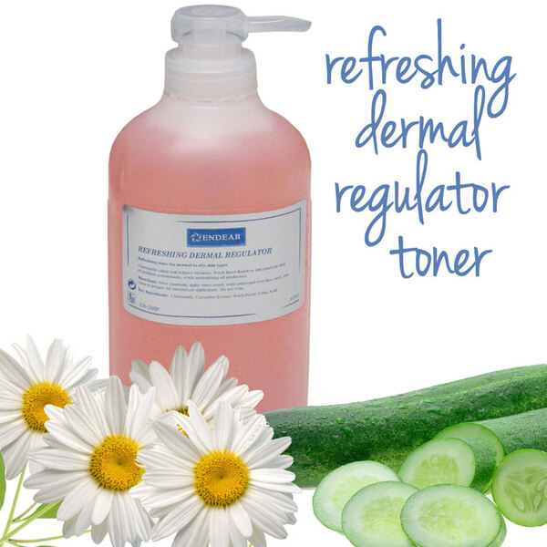 Refreshing Dermal Regulator Toner 3 Bottles X 20.2 fl. oz. (600 mL.) = 60.6 oz. Total (1.8 Liters) (ER-208P X 3)
