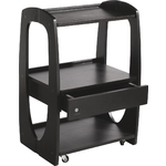 VENUS Skin Care Beauty Salon Trolley Cart - Black (CX1216)