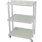 VEGA Skin Care Beauty Salon Trolley Cart - White Frame (CX1224)
