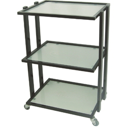 SPICA Skin Care Beauty Salon Trolley Cart - Black Frame (CX1225)