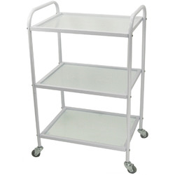 RIGIL Glass Cart with 3 Shelves (CX1227)