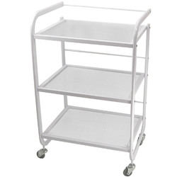 CUVEE 3 Shelf Metal and Glass Trolley (CX1228)