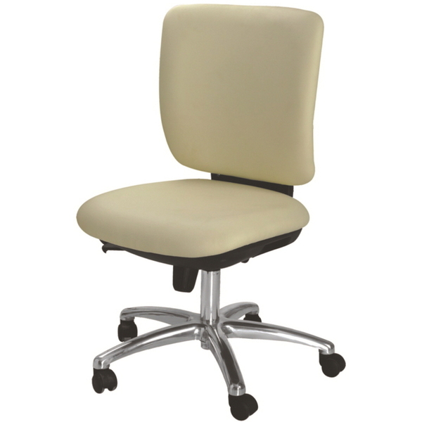 "SLUNCE Esthetician Chair - BeigeCream 18.5""-24"" Seat Height (CX1315)"