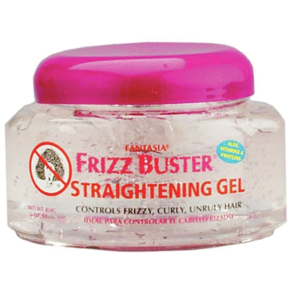 Frizz Buster Straightening Gel 16 oz. Jar (4015)