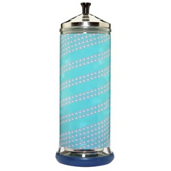 SalonSkins Decorative Barbicide Jar Wrap - Ocean Bling (SS-111)