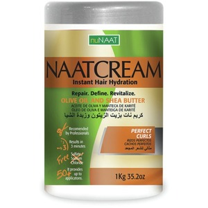 NAAT Cream Olive Oil & Shea Butter 35.27 oz. - 1 Kilogram (106P000001)