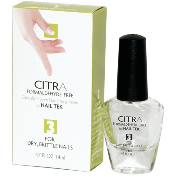 NAIL TEK Citra 3 For Dry Brittle Nails - 14 mL 0.47 fl oz (55541)