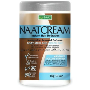NAAT Cream Goat Milk & Brazil Nut 35.27 oz. - 1 Kilogram (106P000003)