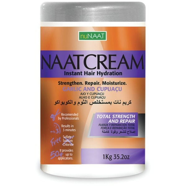 NAAT Cream Garlic & Cupuacu 35.27 oz. - 1 Kilogram (106P000004)