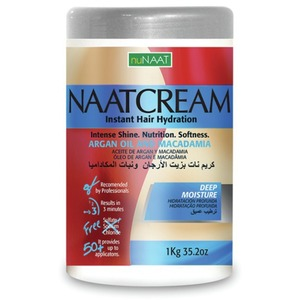 NAAT Cream Argan Oil & Macadamia 35.27 oz. - 1 Kilogram (106P000007)