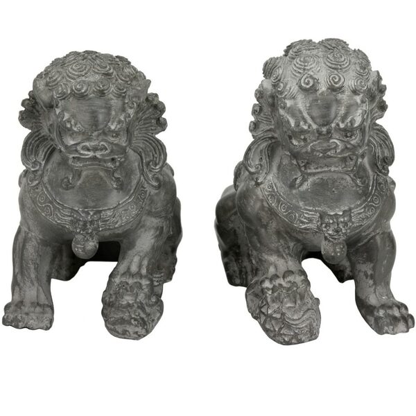 "6"" Sitting Foo Dog Statues (STA-LION2)"
