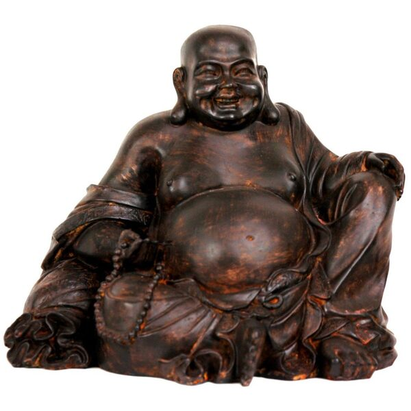 "8"" Sitting Laughing Buddha Statue (STA-BUD8)"