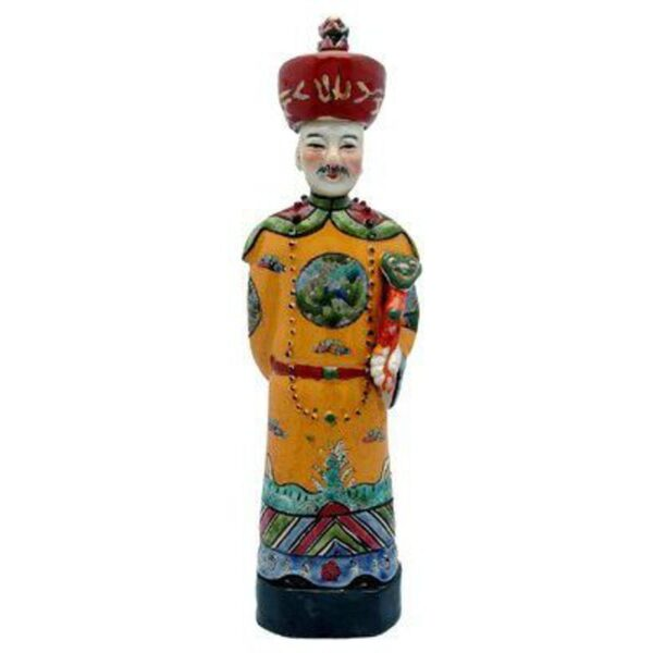 "11"" Yellow Emperor Statue (CS-20152)"