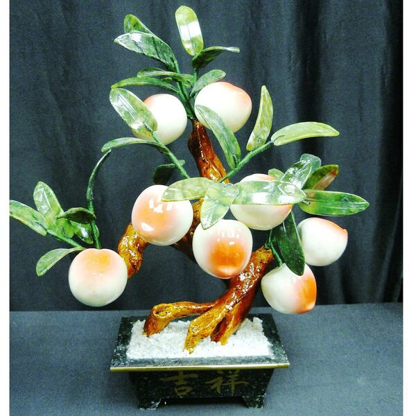 15in. Jade Peach Tree (8-PC) (GFT_JAD_201-8P)