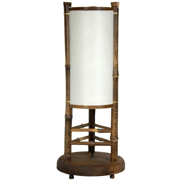 "20"" Koru Japanese Bamboo Table Lamp (WDLT3-19S)"