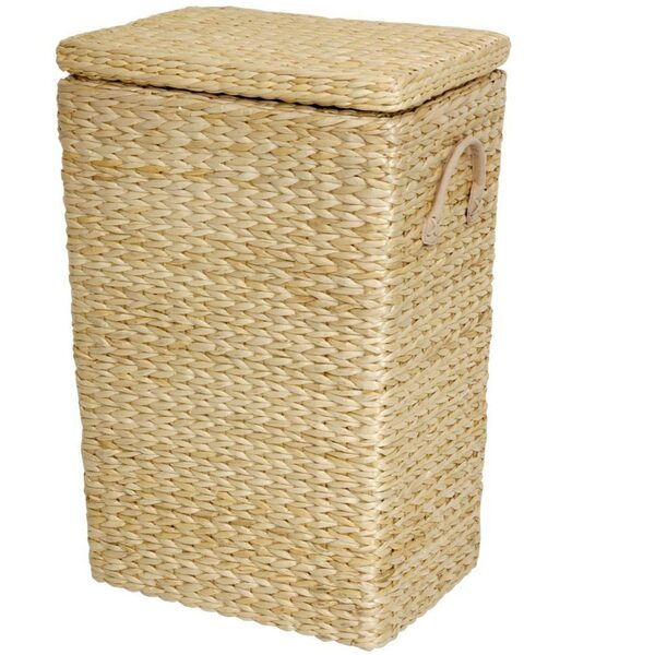 Rush Grass Laundry Basket - Natural Red Brown or Black (FB-LNDRY)