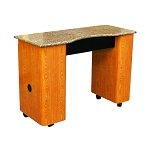 Deco Anna Granite Top Nail Table (FT110)