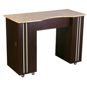 Adelle Manicure Table - Full Marble Top (SF501-807-875)