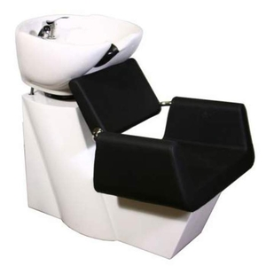 Beatrice Shampoo Chair Station - BlackWhiteWhite (SF3971-BWW)