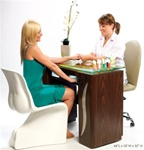 Manicure Nail Table by Gulfstream