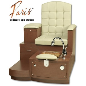 Single Paris Pedicure Station Bench by Gulfstream