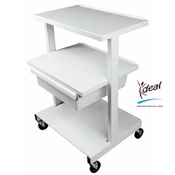 "Offset Shelf Equipment Cart 24""x19""x31"" by Ideal Products (HC220)"