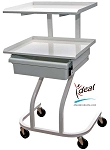 "2 Shelf Equipment Cart 22""x20""x38"" by Ideal Products (ST55)"