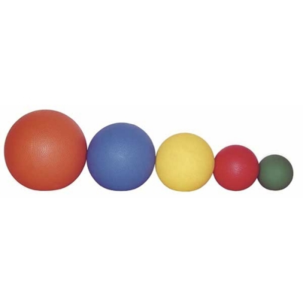 "Standard Medicine Ball 2.2 lbs. Red (1000 Grams) 5"" Diameter by Ideal Products (MB2)"