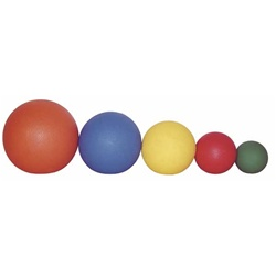 "Medicine Ball 30 lbs. Red (13600gm) 11"" Diameter by Ideal Products (MB30)"