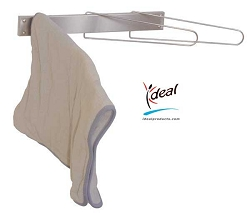 "3 Hook Hot Pack Cover Drying Rack 3""x12""x17"" by Ideal Products (HCR3F)"