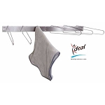 "6 Hook Hot Pack Cover Drying Rack 3""x12""x33"" by Ideal Products (HCR6F)"