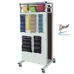 "Double Sided Combo Weight Rack 24""x24""x53"" by Ideal Products (MWR55)"