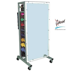"Double Sided Combo Weight Rack 24""x24""x53"" by Ideal Products (MWR75)"