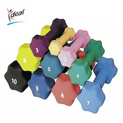 Standard Dumbbell 10 lbs. by Ideal Products (DB10)