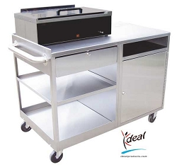"Deluxe Splinting Workstation 42""x25""x31"" by Ideal Products (SC242)"