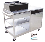 "Deluxe Splinting Workstation 42""x25""x31"" by Ideal Products (SC242W)"