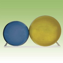 "Therapy Ball Wall Rack 107""x17""x2"" by Ideal Products (WM9)"
