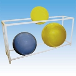 "Therapy Ball Floor Rack 62""x18""x30"" by Ideal Products (SR6)"
