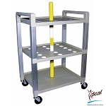 "Therapy Bar Mobile Cart 21""x15""x30"" by Ideal Products (C320TB)"