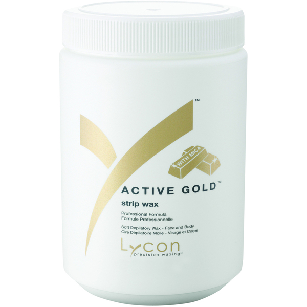 Lycon Active Gold - Soft Strip Wax 800 mL. - 27 oz. (WSLL5008)