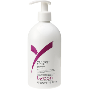 Lycon Perfect Finish with Apricot Sweet Almond and Lavender 500 mL. - 17 oz. Each Case of 15 (WAPF1 X 15)