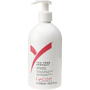 Lycon Tea-Tree Perfect with Apricot Sweet Almond Tea-Tree and Lavender 500 mL. - 17 oz. Each Case of 15 (WATP1 X 15)
