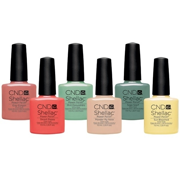 CND Shellac Open Road Collection Spring 2014 - Set of 6 Colors! (768995)